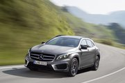 фото Mercedes-Benz GLA кроссовер X156