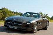 фото Mercedes-Benz SLS AMG родстер C197