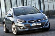фото Opel Astra хетчбэк J рестайлинг