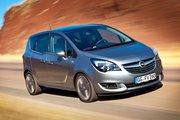 фото Opel Meriva минивэн B рестайлинг