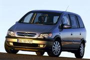 фото Opel Zafira минивэн A рестайлинг