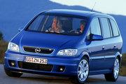фото Opel Zafira OPC минивэн A