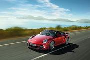 фото Porsche 911 Turbo кабриолет 997 рестайлинг