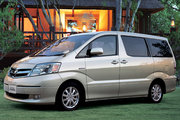 фото Toyota Alphard Hybrid минивэн 1 поколение