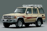 фото Toyota Land Cruiser J76 внедорожник J70 3-й рестайлинг