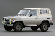 фото Toyota Land Cruiser J73 кабриолет J70 2-й рестайлинг