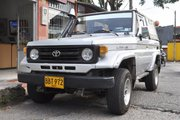 фото Toyota Land Cruiser PZJ70 кабриолет J70 рестайлинг