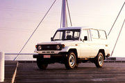 фото Toyota Land Cruiser J78 внедорожник J70 рестайлинг